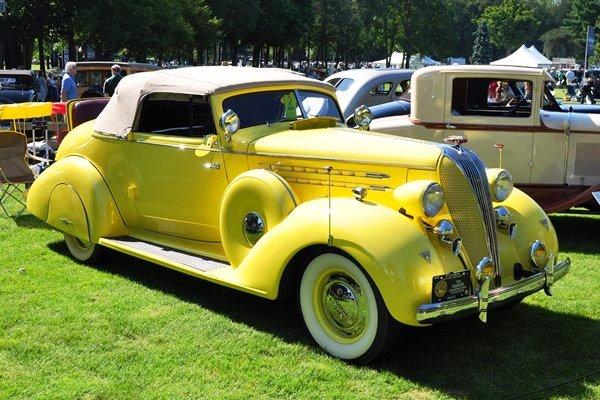 1936 Hudon 65 Convertible Coupe Eldon & Esta Hostetler