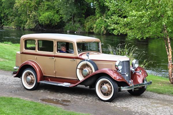1932 Desoto SC-6 four-door-sedan Buddy Tyler