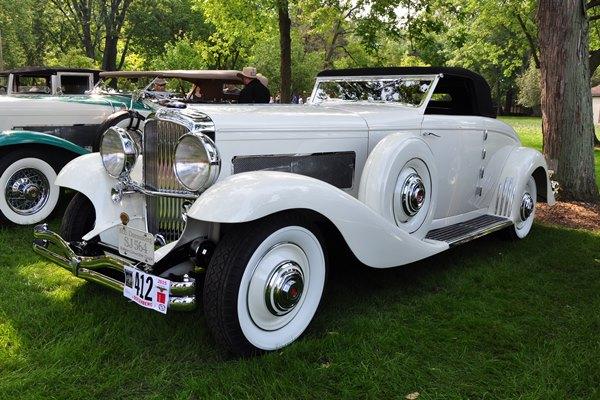 1935 Duesenberg SJN Murphy Convertible Coupe Bill Parfet