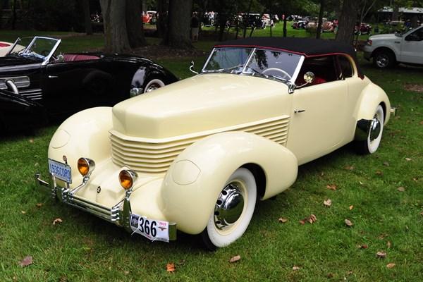 1936 Cord 810 Phaeton Greg Charlton