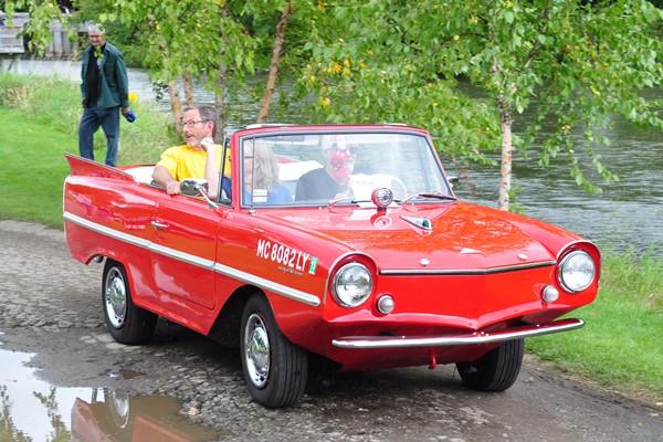 1967 Amphicar Chris Fox and Ray Handloser