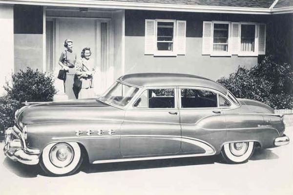 1952 Buick Roadmaster Sedan