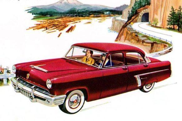 1952 Mercury Custom Sedan