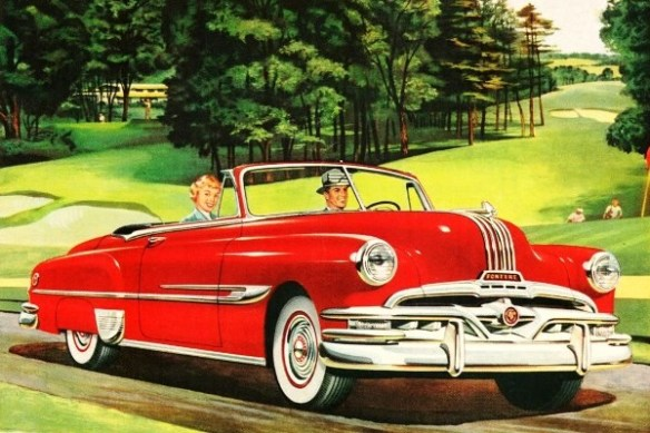 1952 Pontiac Chieftain Deluxe Eight Convertible