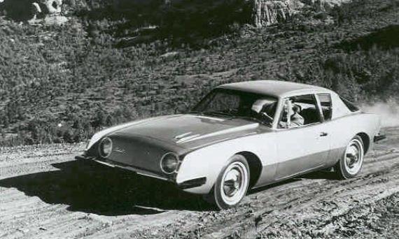 1963 Studebaker Avanti dirt