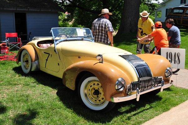 1948 Allard K1 Clay Grundy