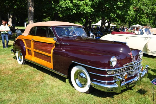 1948 Chrysler Town & Country Convertible Bill Golling