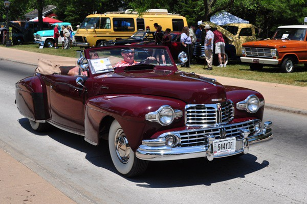 1948 Lincoln Continental Convertible William F. Reineke