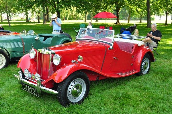 1950 MG TD Riachrd & Yoland Markel