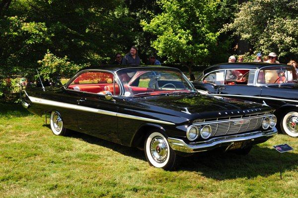 1961 Chevrolet Impala two-door hardtop Chris & Jan Fodell