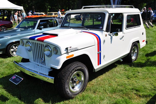 1971 Hurst Jeepster Commando Lee Tidwell