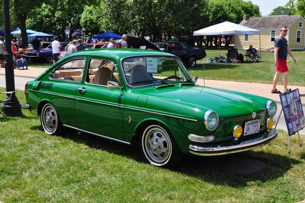 1973 Volkswagen Type III Fastback Gregory Sanchez
