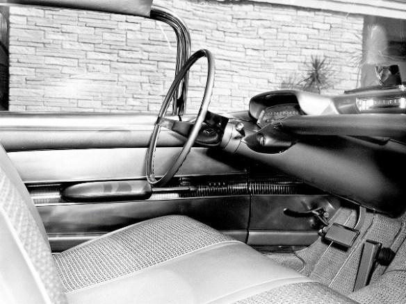 1956 Corvette Impala interior front