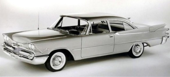 1959 Dodge Silver Challenger press release photo