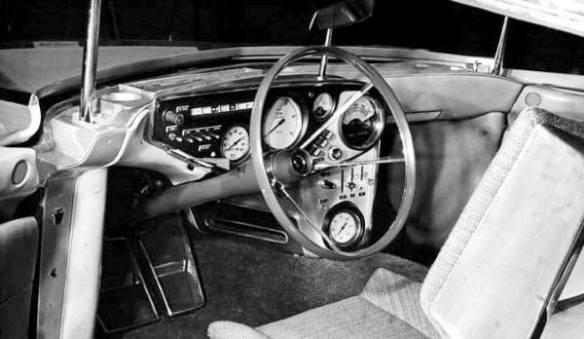 1961 Chrysler Turboflite driver seat