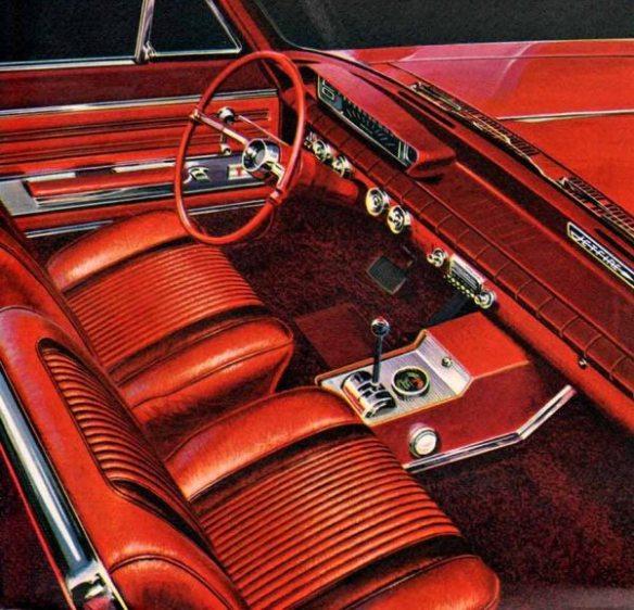 1962 Oldsmobile Jetfire cabin