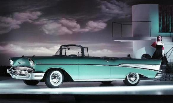 Chevrolet Bel Air Convertible 1957 LF
