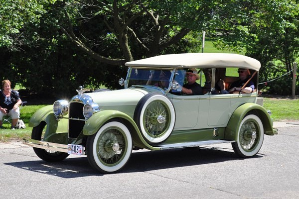 1923 Duesenberg A Sport Phaeton John Bools