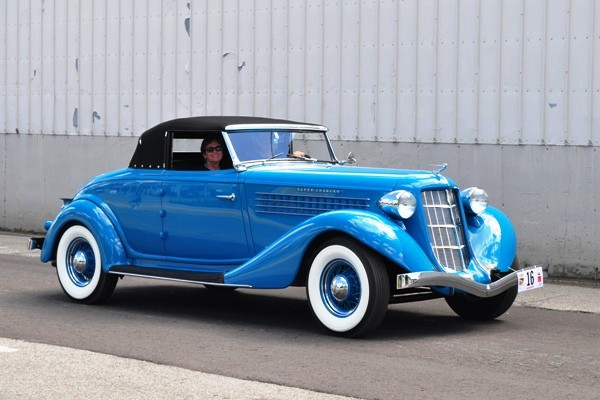 1936 Auburn 852 Cabriolet Tom Beale