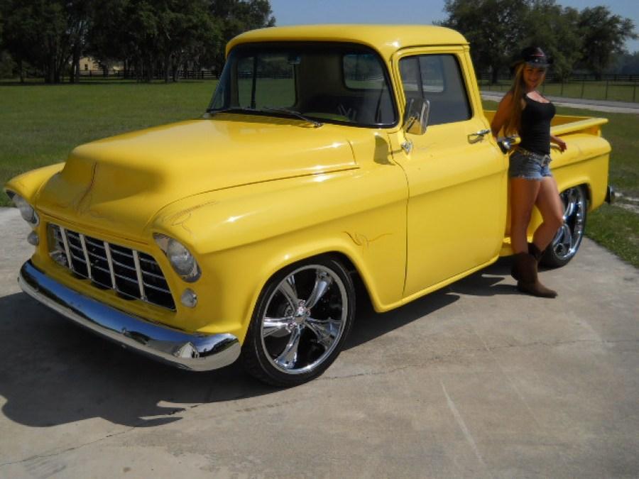 1955 Chevy pick up pro touring retro street rod