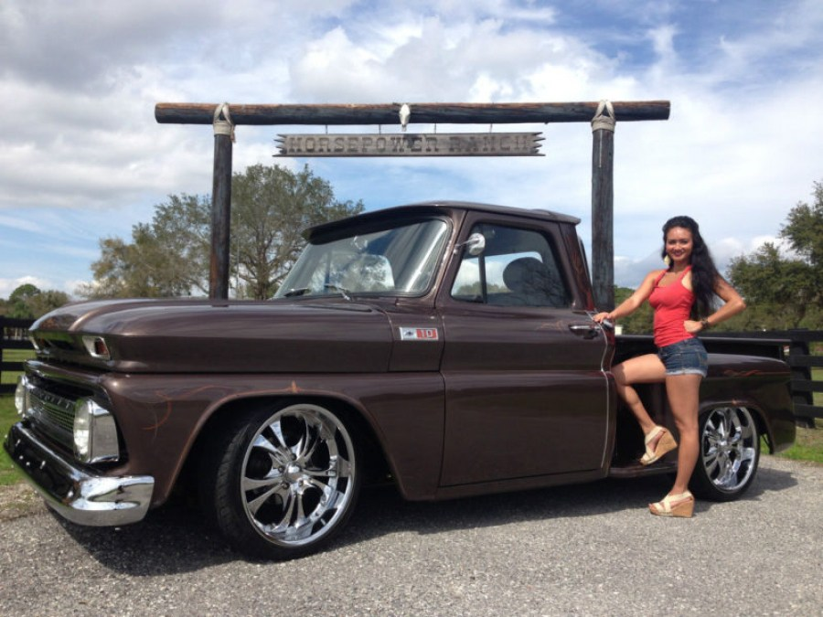 1965 Chevy Step side Frame off restoration custom retro street rod pickup truck