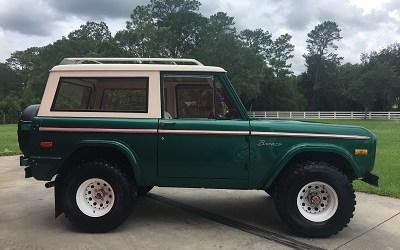 1966 to 1976 Bronco
