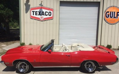 1972 Buick GS 455 Stage 1 Convertible