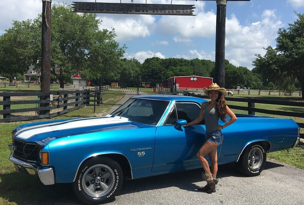 1972 Chevrolet El Camino SS 454 Big Block V8
