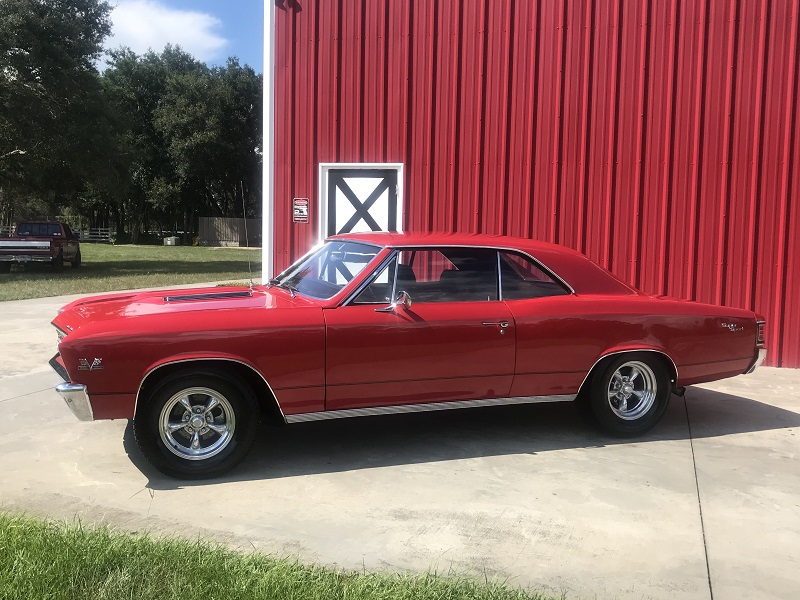 1967 Chevrolet Chevelle TRUE SS