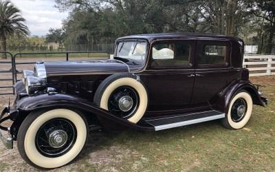 1932 Buick Club Sedan Model 91