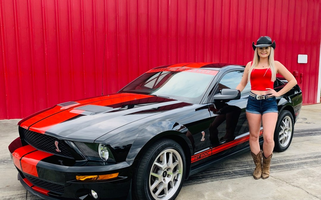 2009 Ford Mustang Shelby GT500 $26900