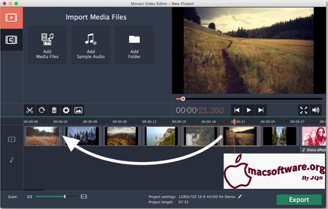 Movavi Video Editor 22.0 Crack With Activation Key Free Download