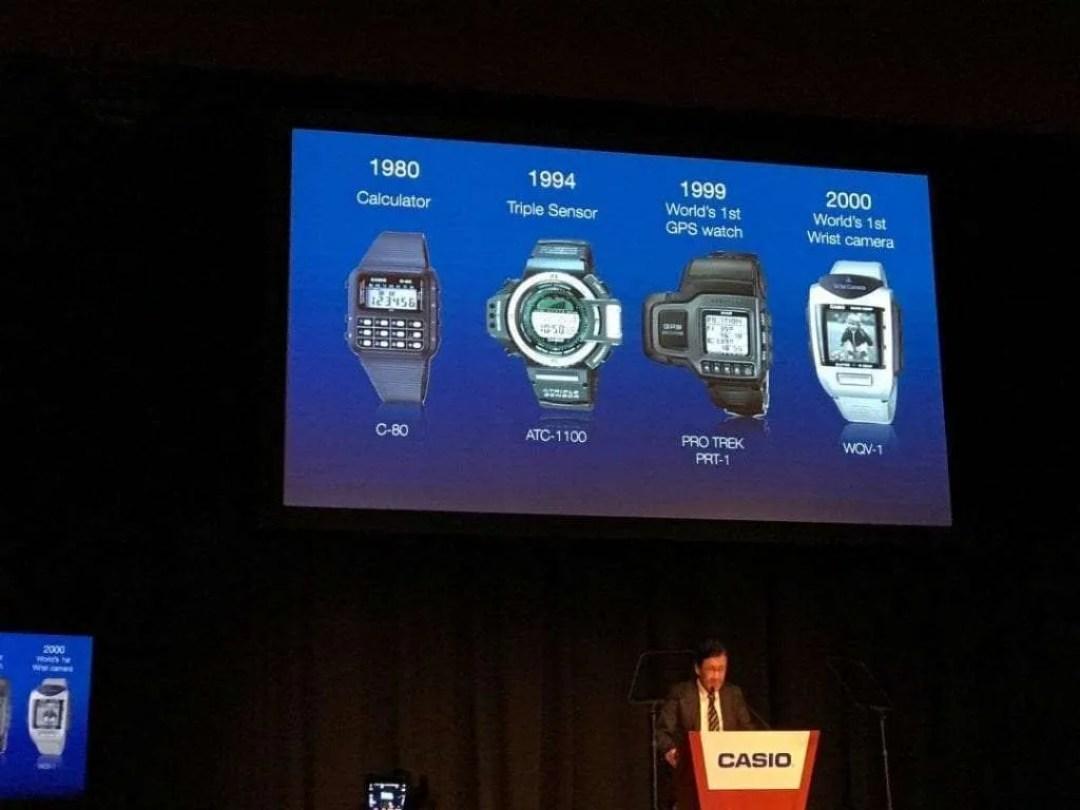 Casio Press Event: Introducing the Pro Trek WSD-F20