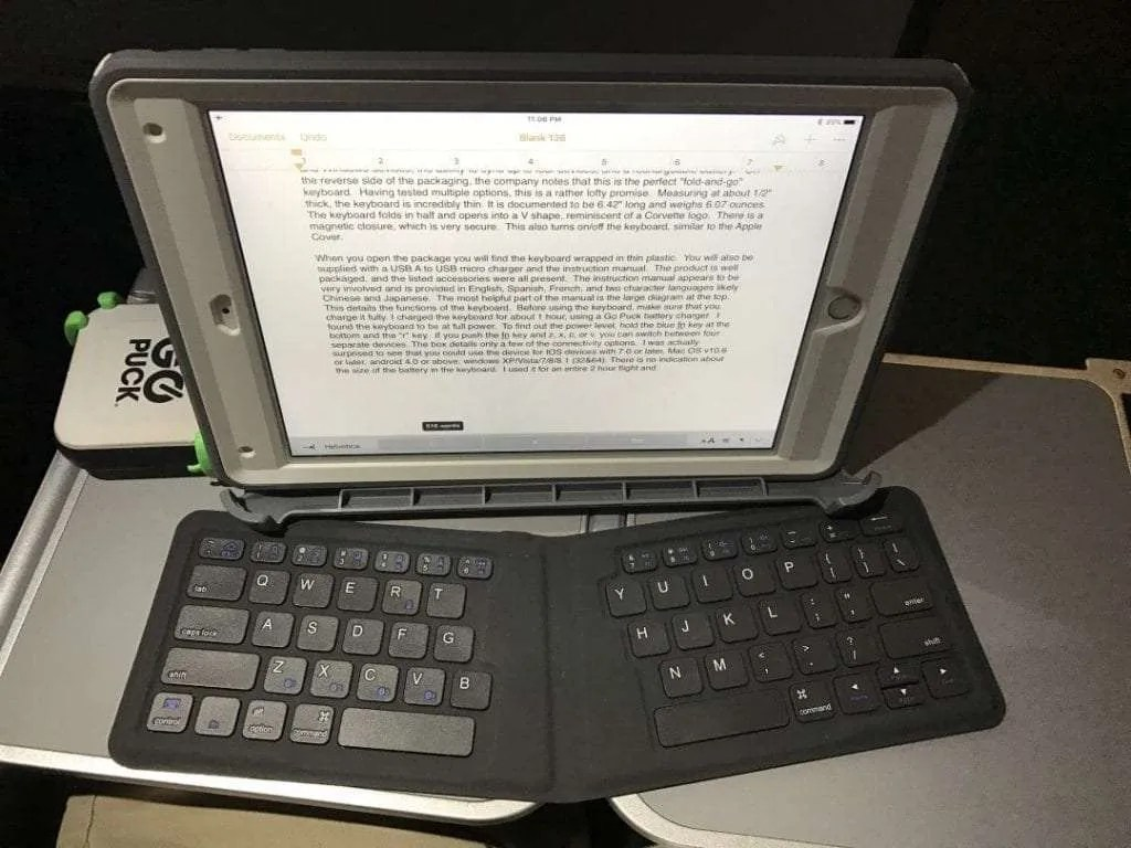 Kanex MultiSync Foldable Travel Keyboard REVIEW