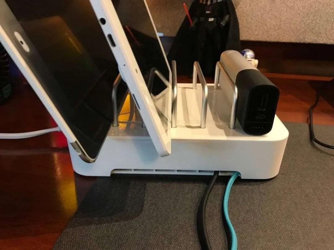 Satechi 6-Port Customizable Media Organizer Desktop Charging Station REVIEW