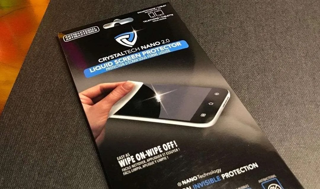 CrystalTech Nano 2.0 Liquid Screen Protector REVIEW Protects with minimal intrusion