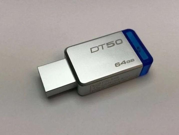Kingston 64GB DataTraveler 50