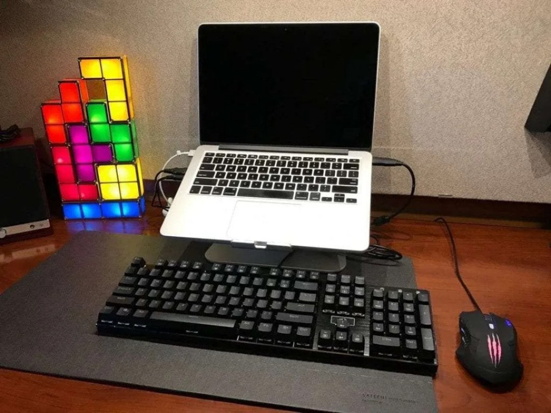 Redragon K556 RGB LED Backlit Mechanical Keyboard