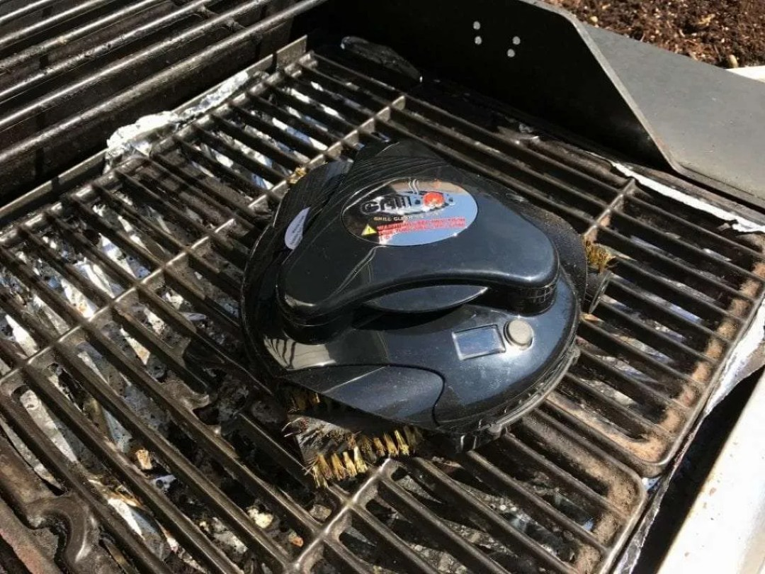 Grillbot Automated Grill Cleaning Robot