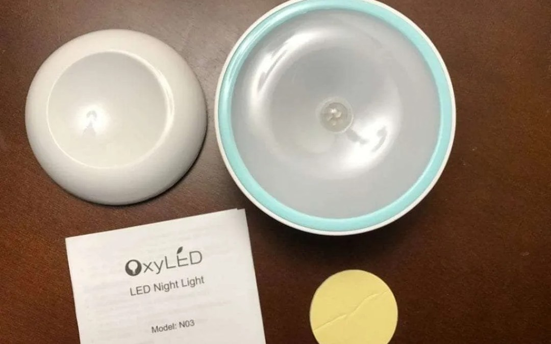 OxyLED LED Night Light Model NO3 REVIEW