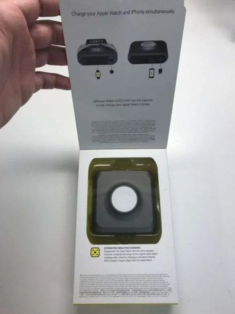Kanex GoPower Watch packaging.