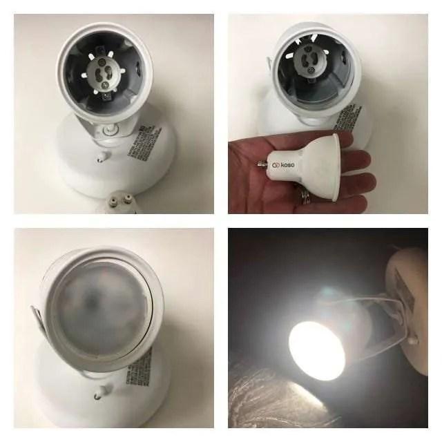 GU10 bulb light