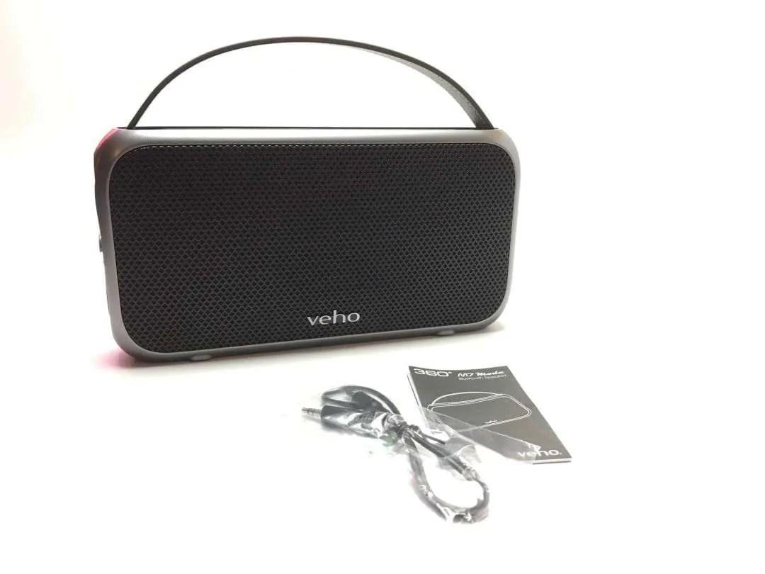 VEHO M7 Mode Retro Water Resistant Speaker
