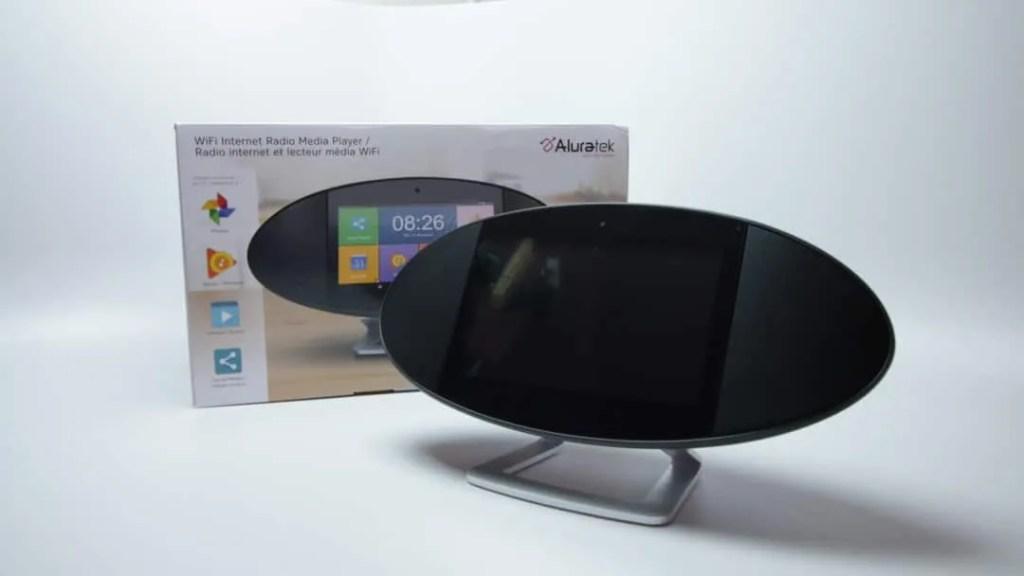WiFi Internet Radio Media Player Touchscreen Display