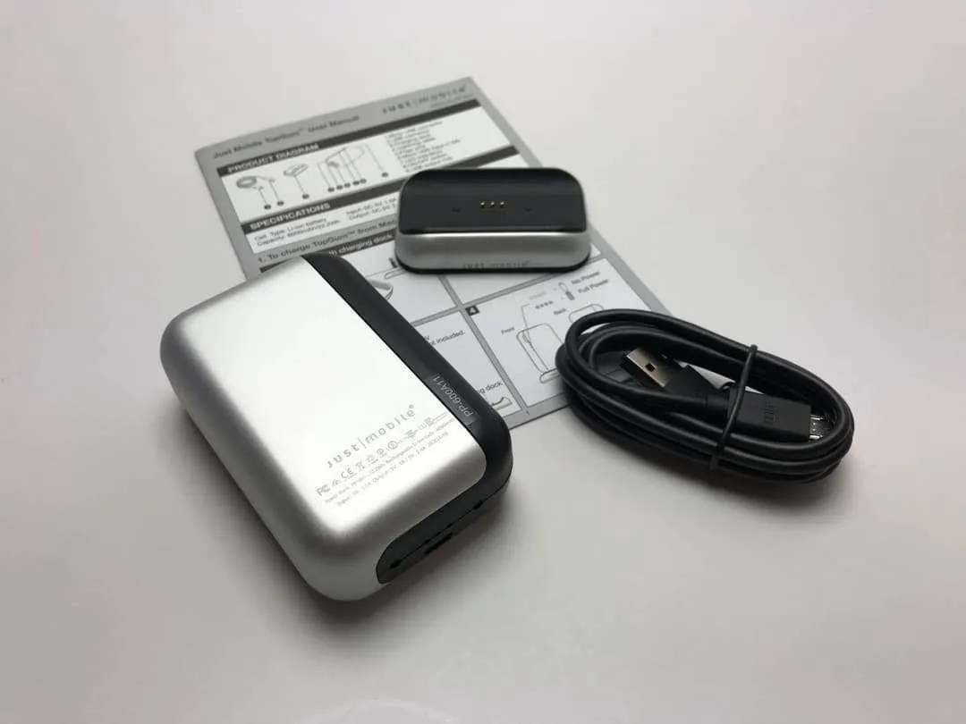 Just Mobile TopGum Portable Battery
