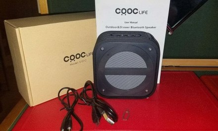 CRDC Life Outdoor and Shower Bluetooth Speaker REVIEW