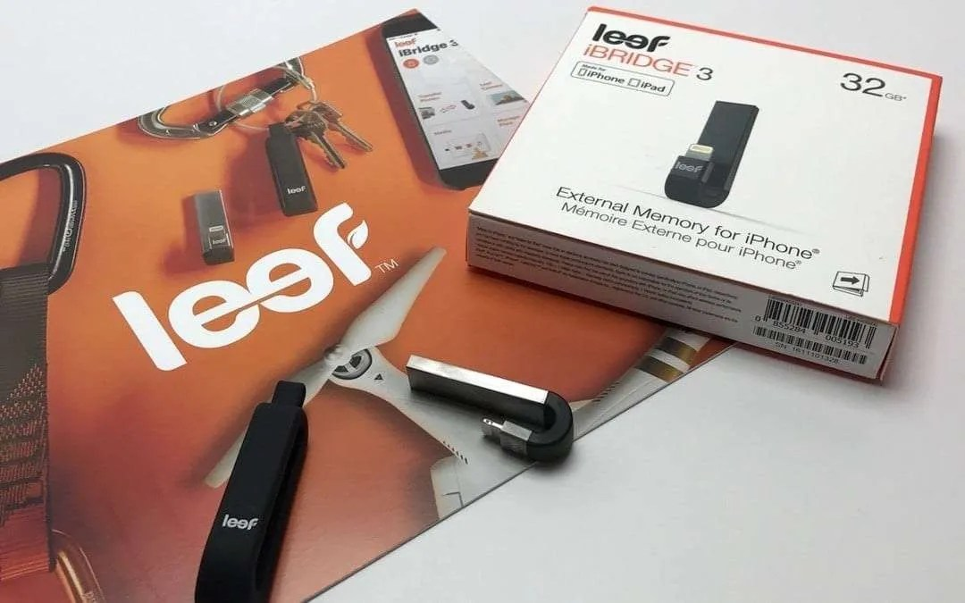 Leef iBridge 3 32GB External Memory for iPhone REVIEW