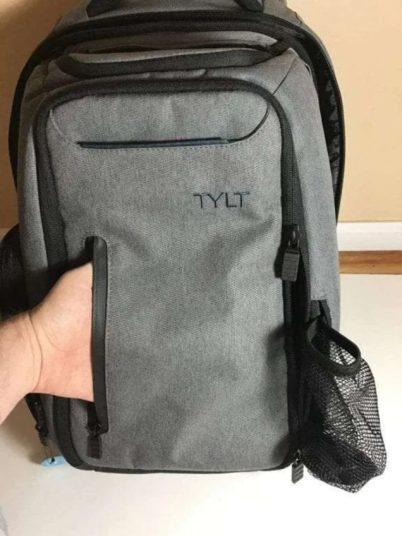 Tylt Front and water bottle holder