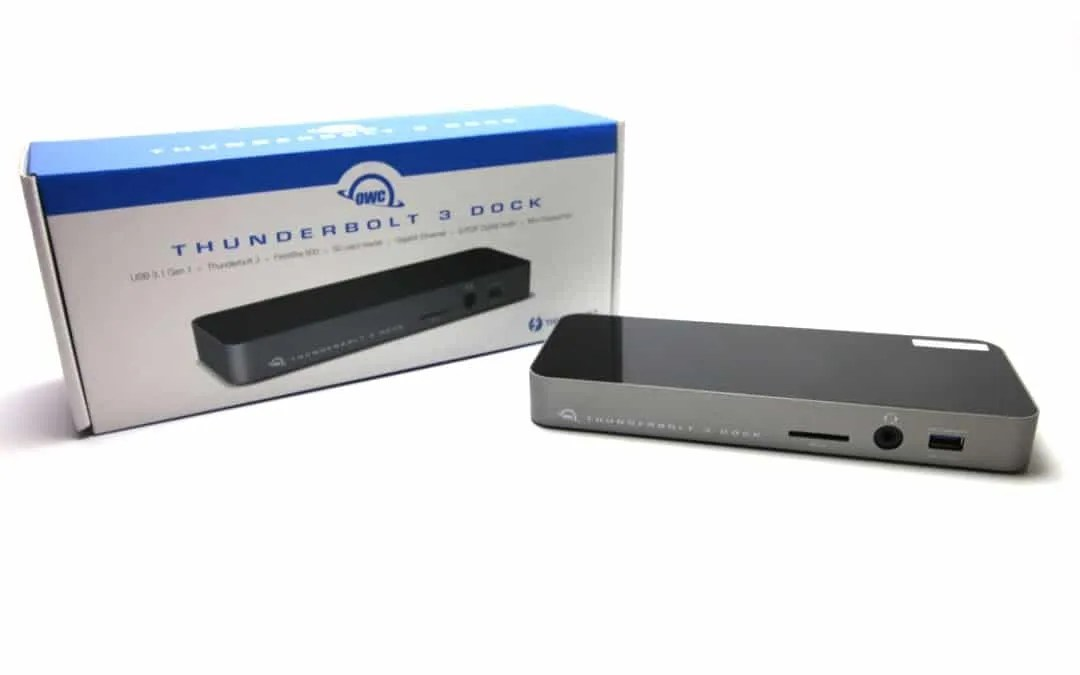 OWC Thunderbolt 3 Dock REVIEW The Only Dock You Will Ever Need
