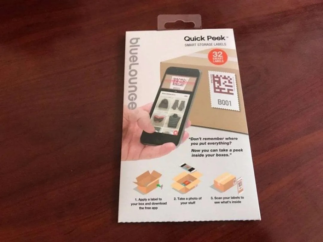 Bluelounge Quick Peek Labeling System REVIEW